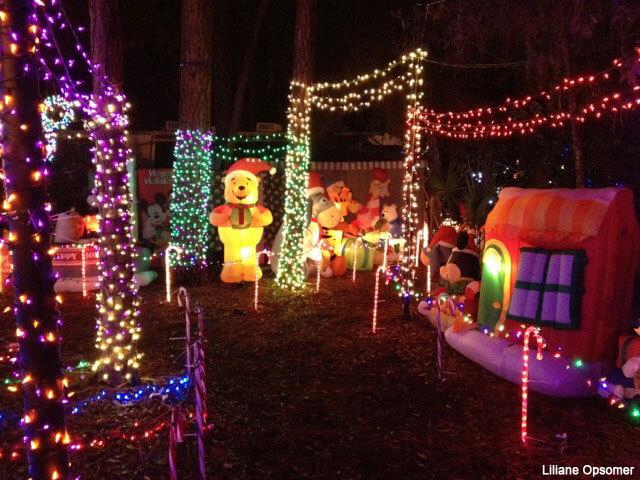 Tour of the Disney World Resort Decorations on Christmas Eve Christmas Tree Decorations 2013