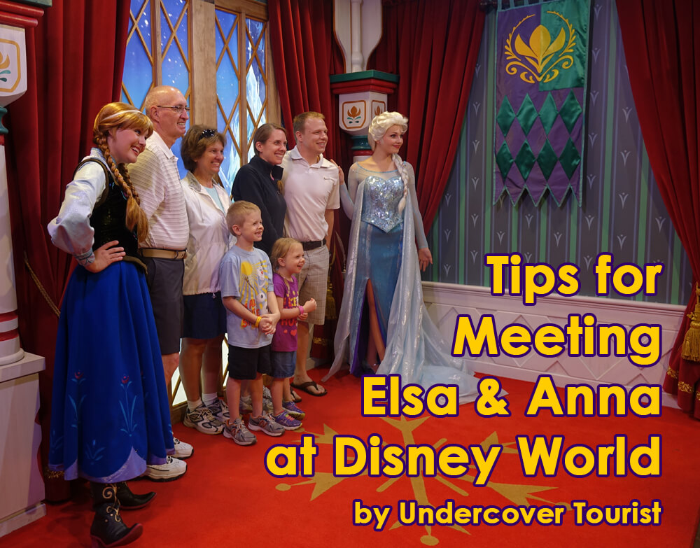 Here are our best tips for meeting elsa and anna at disney world