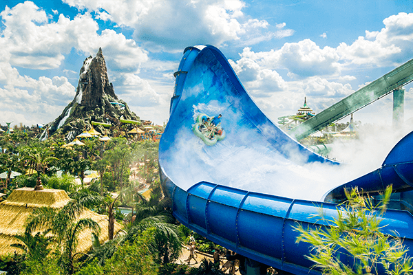 Universal 2-Day Park-to-Park Ticket with Volcano Bay Water Theme Park + 3 Extra Days
