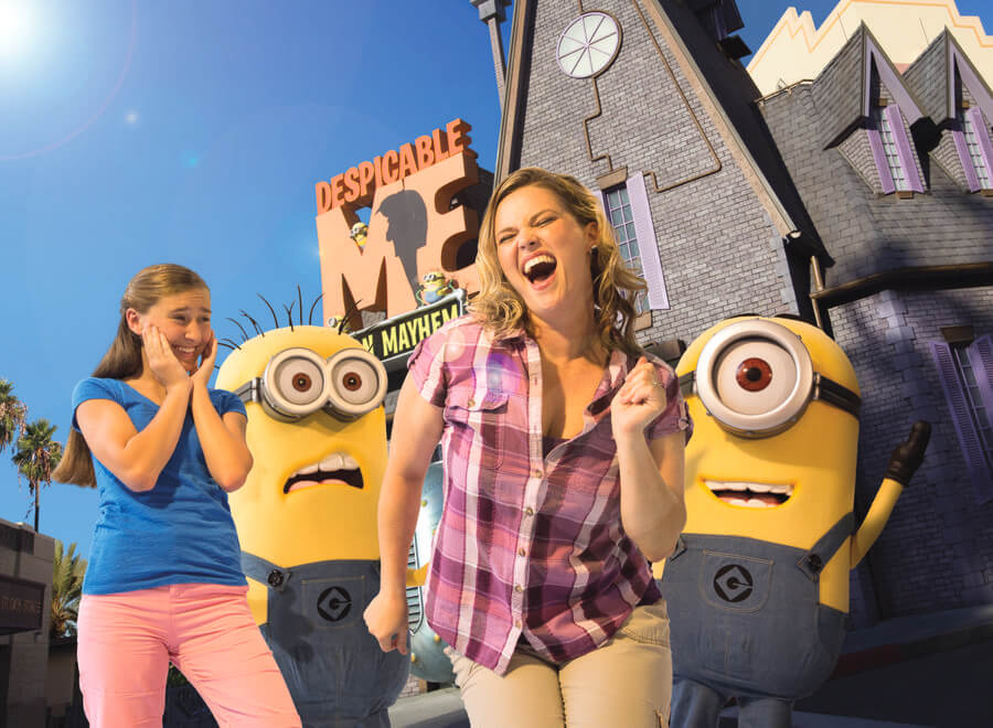 Despicable Me Minion Mayhem | Universal Studios Florida Discount ...