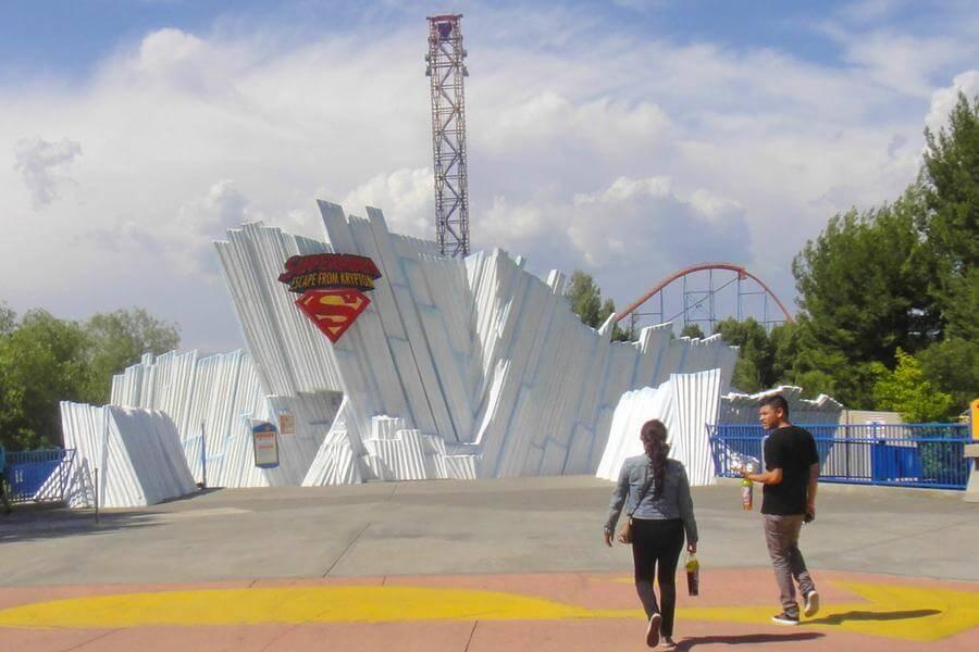 Superman Escape From Krypton Six Flags Magic Mountain