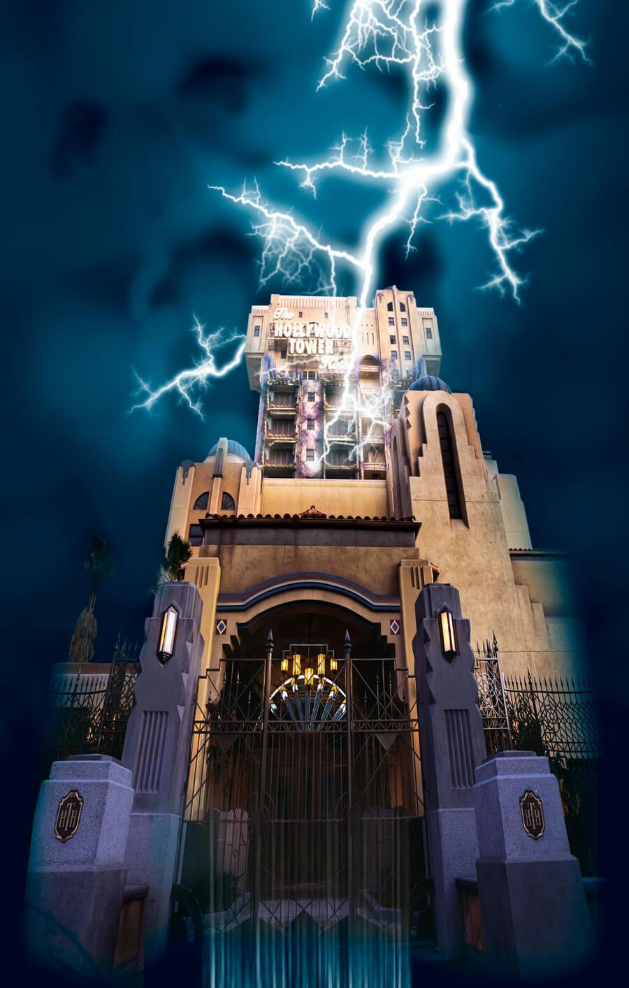 The Twilight Zone Tower Of Terror Disney California