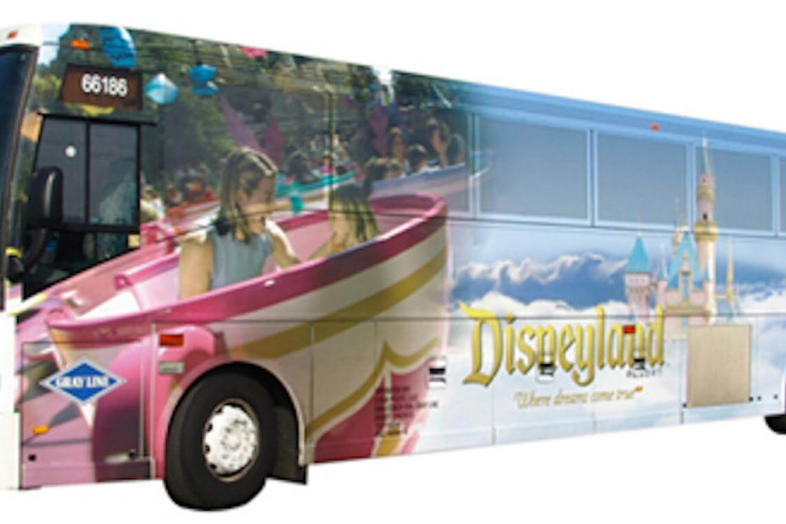 how to get from airport to disneyland