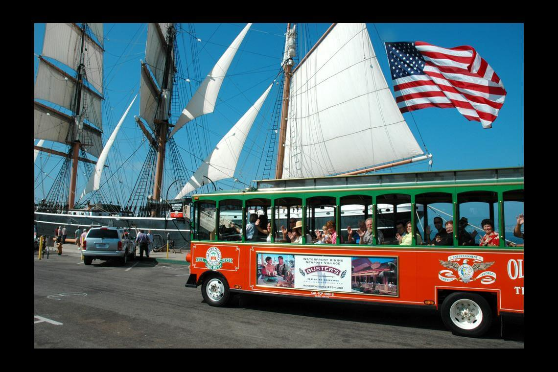 Old town trolley tour of san diego ticket undercover tourist