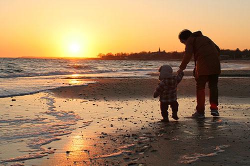 Boston beach family vacation