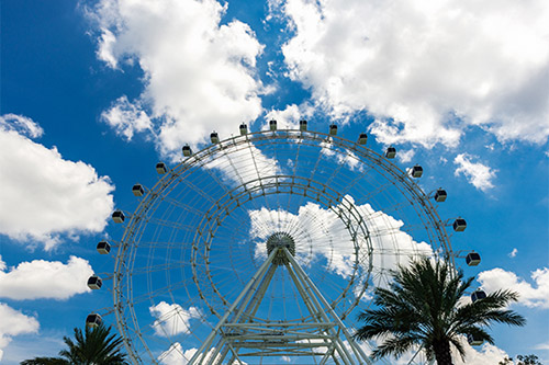 Orlando Eye great views