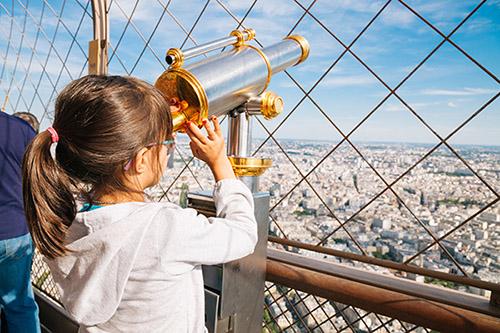 Paris panoramic view