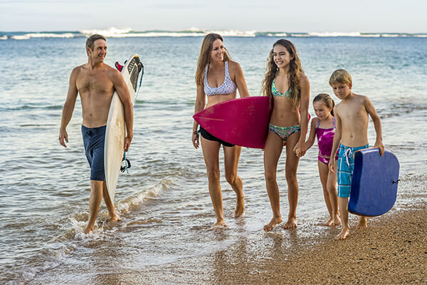 San Diego family surfing adventure