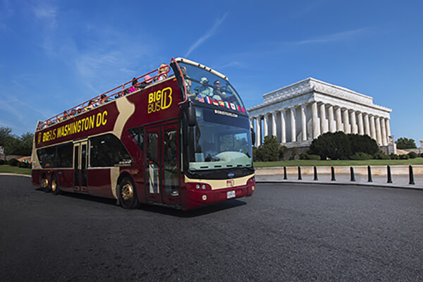 Washington D.C. Big Bus historic tours